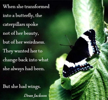 Most Inspirational Butterfly Transformation Quotes Enkiverywell